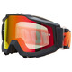 100% Accuri Goggles Anti Fog Mirror Lens / grå/röd